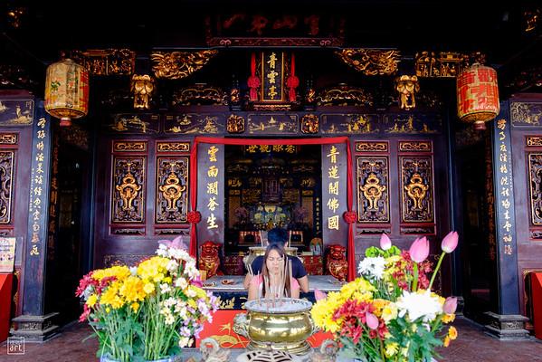 Melaka | Inside Buddhist temple