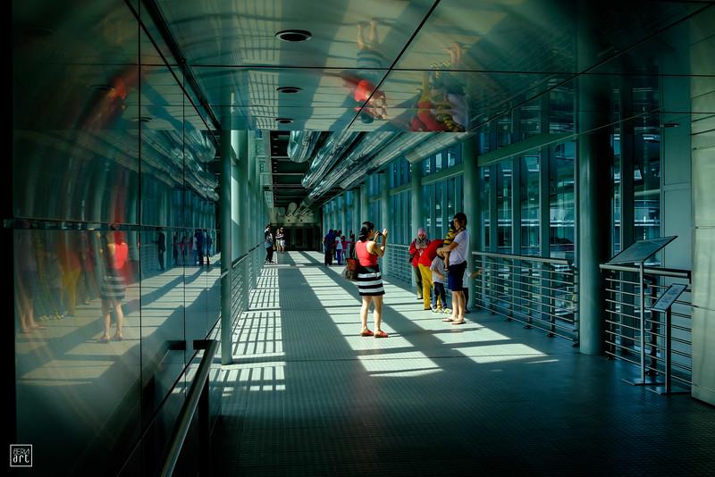 Kuala Lumpur | Skybridge in Petronas Twin Towers