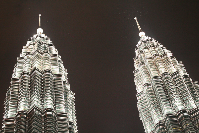 KL-Petronas Towers at night
