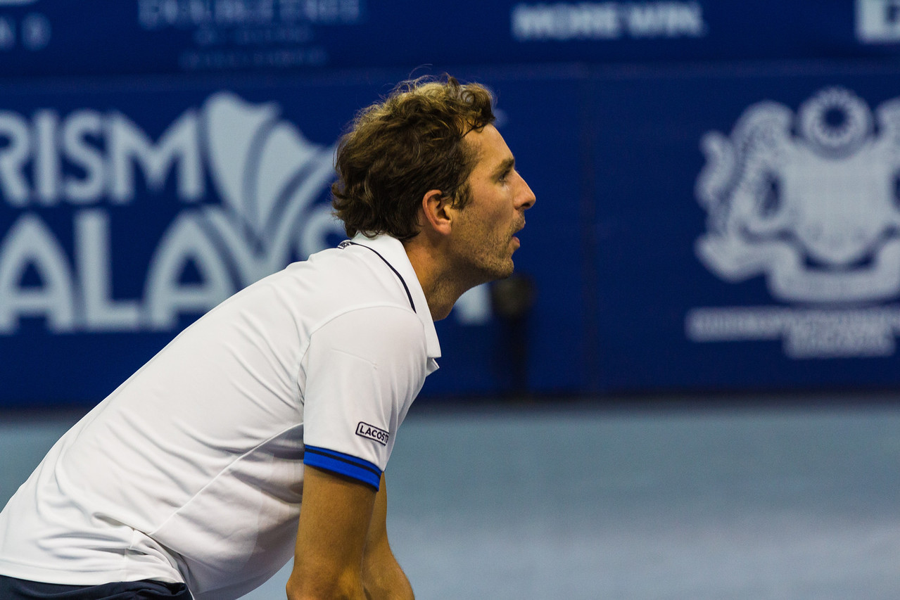 Julien Benneteau at the Malaysian Open