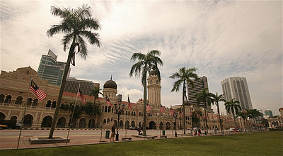 Sultan Abdul Samad Building, Merdeka Square, Kuala Lumpur, Maleisië.
