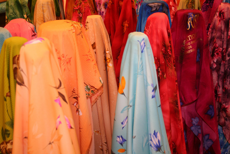 Lots of silk in KL