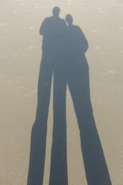 Us on the beach.