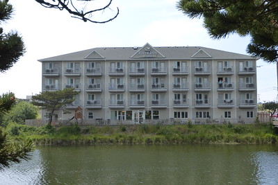 Our hotel for our stay in Seaside, Oregon.