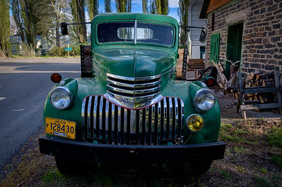 Sweet restored 1941 Series AK Chevrolet truck in Diamond, OR.