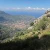 View of Soller, Puerto de Soller & the sea