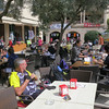 Once you find the town center...cyclists are everywhere.  And everyone caters to us.  There are so many riders you would think that you are on a century ride or Grand Fondo...but you aren't...you are just in Mallorca.