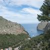 Sa Calobra and the Mediterranean.