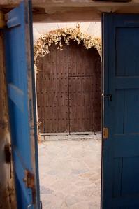 Graveyard gates, Deia