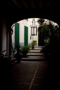 Courtyard, Soller
