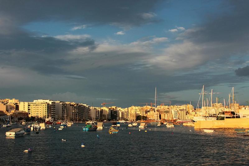 Sliema bay near Valletta
