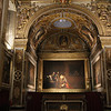St John's Co-Cathedral, Caravaggio's only signed painting, The Beheading, December 1, 1608