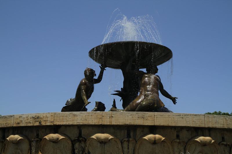 Triton Fountain in Valletta