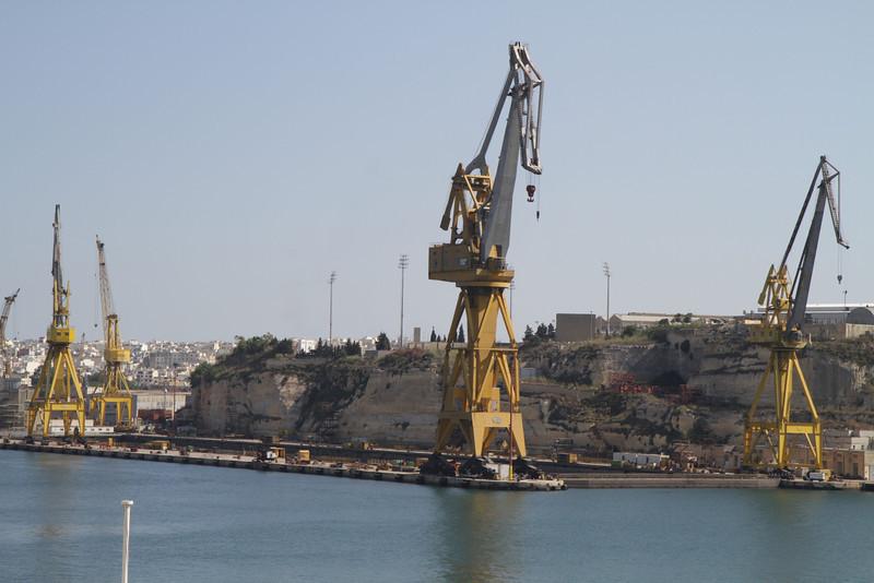 The Dockyards in Malta