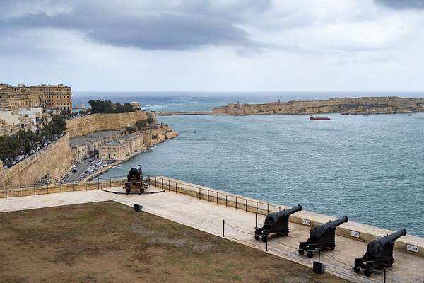 The harbor in Valleta, Malta, the start of our cruise.