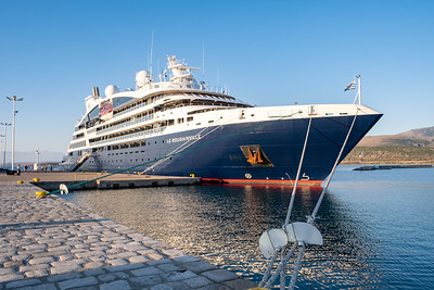Ponant ship Le Bougainville