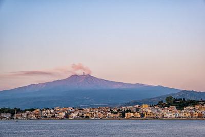 Mt. Etna, near Taormina, Sicily.