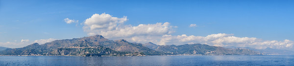 Leaving Taormina and Sicily for Greece.