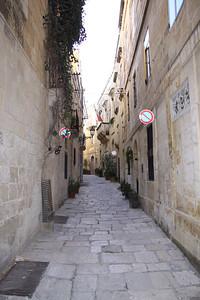 The Collachio area of Vittoriosa