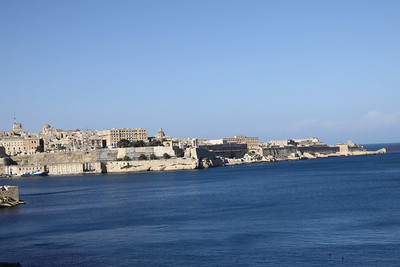 The Grand Harbour at Vittoriosa