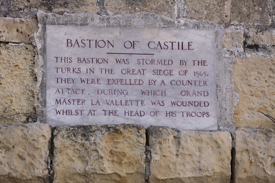 Bastion of Castile at Vittoriosa