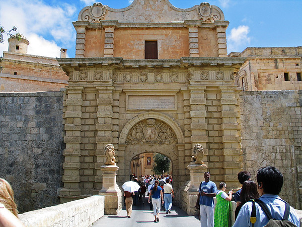 Entrance to Mdina