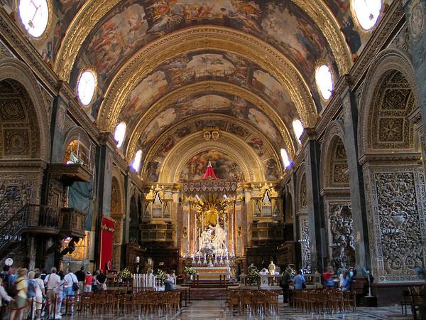 St. John's Cathedral; Valletta