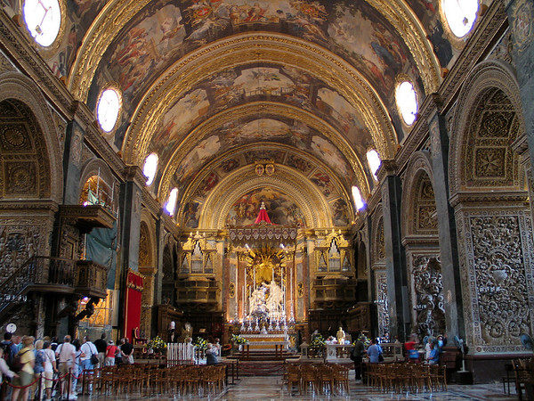 St. John's Cathedral; Valletta