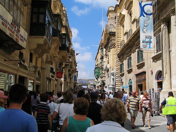 Republic Street; Valletta