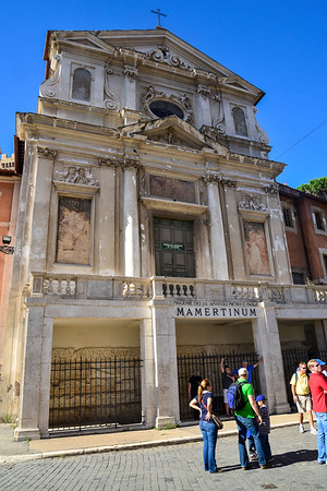 Mamertinum, Spanish Steps, Seven Fountains