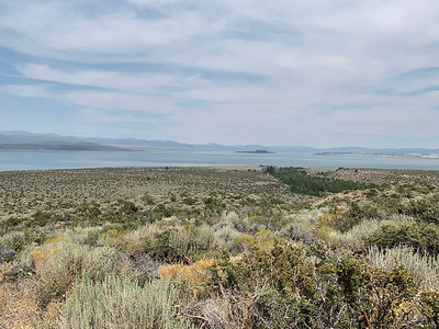 Southeastern view from the Mono Basin Visitors Center