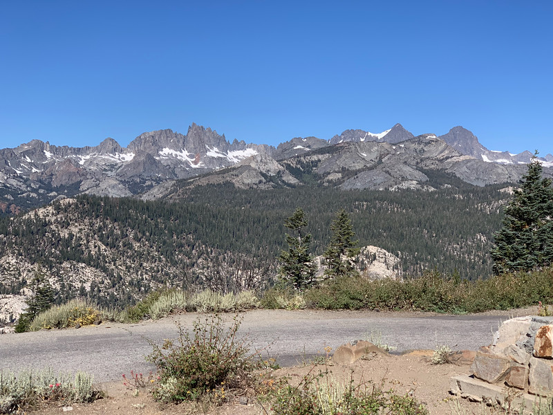 The Ritter Range and the Minarets