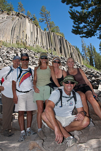 Devil's Postpile, Rainbow Falls and Red's Meadow