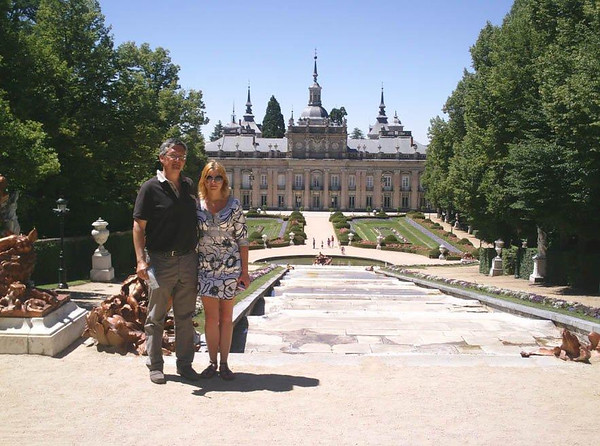 Manel and Julia Together in Madrid Spain!