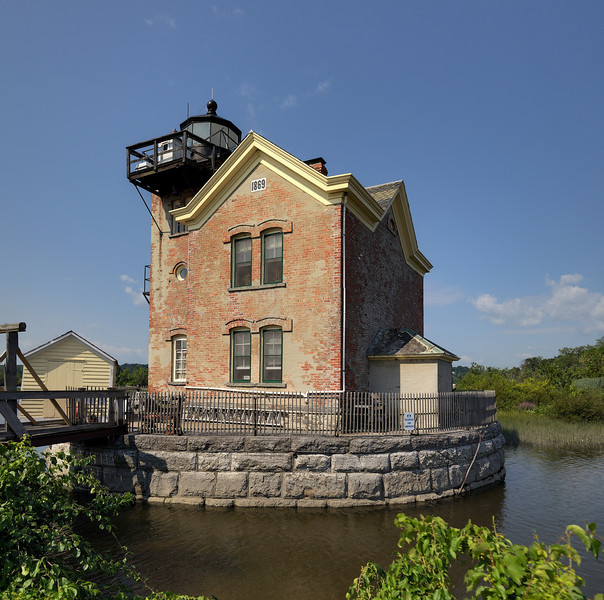 Saugerties Lighthouse on the Hudson.