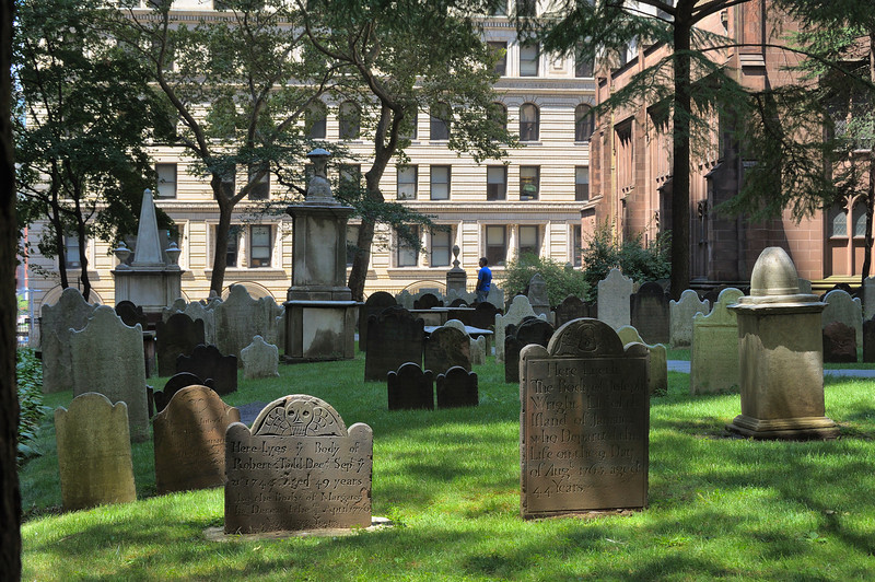 Churchyard at Trinity Church