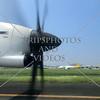 Aircraft taxies at Ninoy Aquino International Airport in Manila, Philippines.