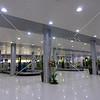 Baggage claim area at Terminal 4 building of Ninoy Aquino International Airport in Manila, Philippines.
