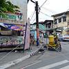 Street corner view in Manila, Philippines.