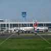 The airport terminal at Ninoy Aquino International Airport in Manila, Philippines.