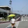 Terminal 4 building at Ninoy Aquino International Airport in Manila, Philippines.