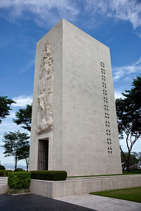 Main memorlal at the Manila American Cemetery and Memorial
