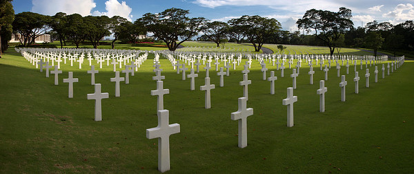Manila American Cemetery and Memorial - Over 17K soldiers buried and over 35K missing identified