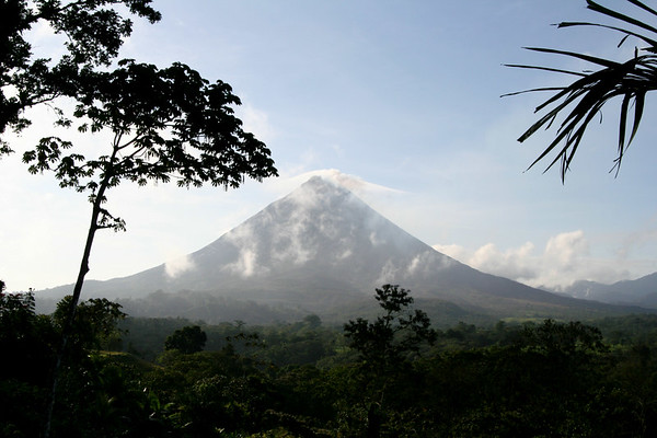 Arenal volcano, view from near La Fortuna.