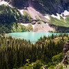 Grinell Lake from glacier trail
