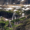 Salamander glacier waterfalls