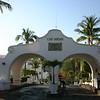 The entrance to Las Hadas.