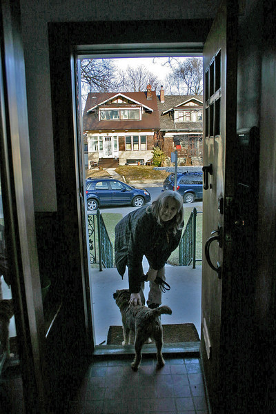 On Sunday, March 4, 2012, at 4:30 p.m., Donna Plante of Pet Partners arrived to pick up Sandy.  This was the fifth year that Sandy would be boarding with Donna.<br /> <br /> Francine's beloved Suzuki SX4 is in the background.