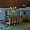 Note the ceiling.  That is not wallpaper but a vaulted brick ceiling.  The floors and counters were marble.