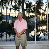 This is a photo of me standing in El Palmar restaurant with the main swimming pool behind me.  It is a lovely place to have breakfast and watch the sun rise.<br /> <br /> Francine bought this pink golf shirt for me in Las Vegas and gave it to me for Christmas.  I think Dave was worried that it might make us look like a same sex couple.  But we are both so ruggedly handsome, how could anyone think that?